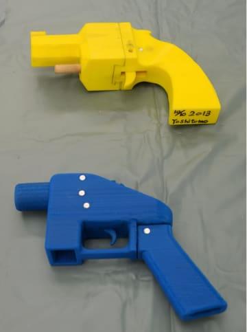 2014年、川崎市の男性が3Dプリンターで造り、警察に押収された殺傷能力のある樹脂製の銃
