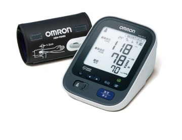 オムロンヘルスケアが始める法人向けサービスに対応した血圧計