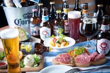 有楽町SORAバル クラフトビール 飲み放題 30種類 肉バル 女子会 デート
