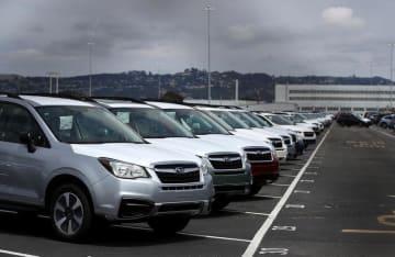 資料 Trade: Cars in California in 2018