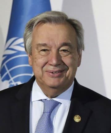 アントニオ・グテレス国連事務総長(ロイター=共同)