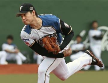 Kohei Arihara of the Nippon Ham Fighters 2018073101416