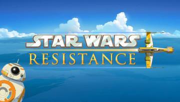 「スター・ウォーズ」の新作アニメ「Star Wars:Resistance」のビジュアル