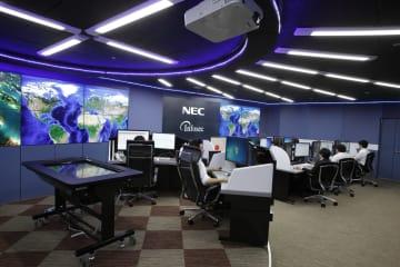 NECの監視拠点「サイバーセキュリティ・ファクトリー」