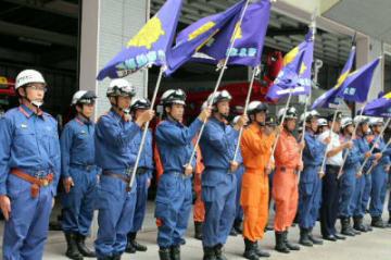 広島で行方不明者の捜索活動をした緊急消防援助隊