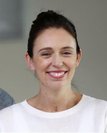 ニュージーランドのアーダン首相(ゲッティ=共同)