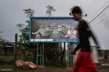 エチオピアの難民キャンプ。隣国エリトリアから難民が絶えず到着する