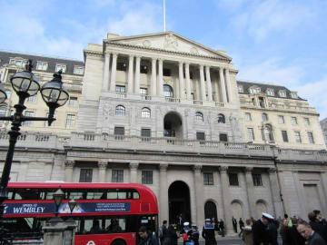 英中央銀行のイングランド銀行=ロンドン(共同)