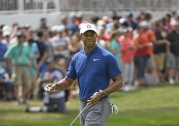 タイガー・ウッズは5バーディ、1ボギーの4アンダー66(パー70) Photo by Chris Condon/PGA TOUR
