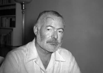 アーネスト・ヘミングウェー=1950年、キューバ(AP=共同)