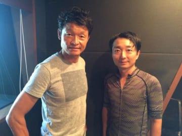白戸太朗さん(左)と野島裕史