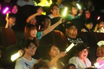 「『劇場版ポケットモンスター みんなの物語』応援上映」(C)Nintendo・Creatures・GAME FREAK・TV Tokyo・ShoPro・JR Kikaku(C)Pokemon (C)2018 ピカチュウプロジェクト