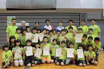最多のメダルを獲得した兵庫・猪名川クラブ