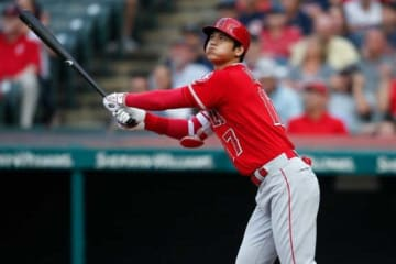 2本塁打含む4安打と大活躍したエンゼルス・大谷翔平【写真:Getty Images】