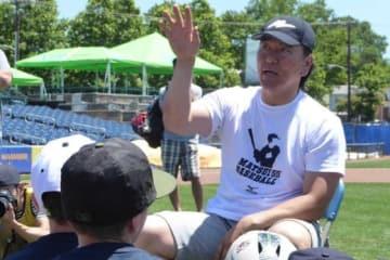 5日に始球式を務める予定の松井秀喜氏【写真:編集部】