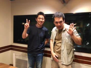 神田松之丞さん(右)と高須光聖