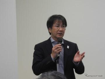 内閣府SIP自動運転プログラムディレクターの葛巻清吾氏(トヨタ自動車先進技術開発カンパニー常務理事)