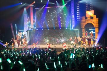 『#コンパスライブアリーナ』大阪公演が大盛況!女性に支持される強みは、映像と楽曲、さらにコスプレイヤー!?