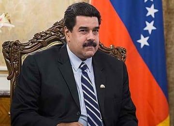 Venezuelan Nicolas Maduro
