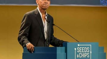 Seeds&Chips: The Global Food Innovation Summit 2017 with keynote speaker 44th President of the United States Barack Obama