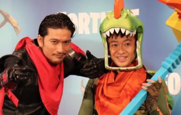 『フォートナイト』TVCMでTOKIO「生き残らナイト!」―発表会では城島&長瀬が開発者とプレイ