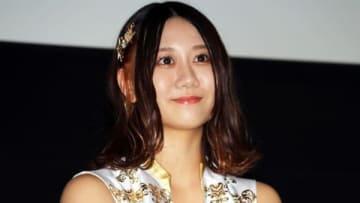 名古屋市内で映画「オーシャンズ8」の「ゴージャス試写会」に登場したSKE48の古畑奈和さん