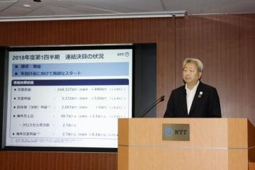 NTT President Sawada