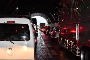 渋滞が予想される北陸自動車道