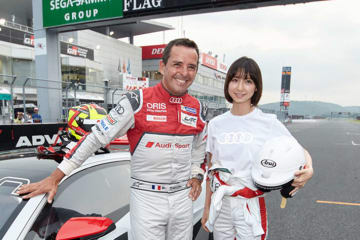 Audi e-tron Vision Gran Turismoが富士でデモ走行を実施
