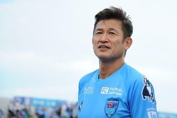 51歳になった今もなお、現役としてピッチで走り続ける三浦知良 photo/Getty Images