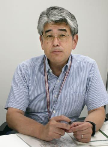 日本原子力研究開発機構核不拡散・核セキュリティ総合支援センターの堀雅人副センター長=7月、茨城県東海村