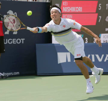 Tennis: Nishikori at Rogers Cup
