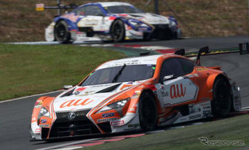 今季のSUPER GT/GT500クラスを戦っているLEXUS LC500。