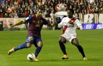 バルセロナでプレイしていたモントーヤ photo/Getty Images