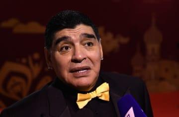 アルゼンチン代表監督復帰に意欲を示しているマラドーナ氏 photo/Getty Images
