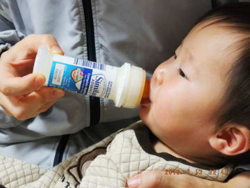 Liquid baby formula