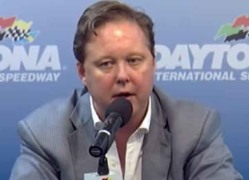 Brian France takes leave of absence as NASCAR Chairman & CEO (screenshot)