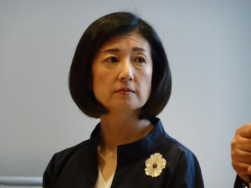 大塚久美子社長(今年3月撮影)