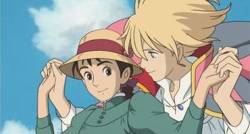 映画「ハウルの動く城」の一場面 (C) 2004 Studio Ghibli・NDDMT