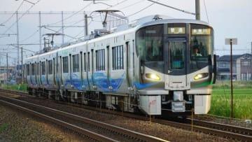521系 電車 普通列車 糸魚川行 あいの風 とやま鉄道 富山~東富山間