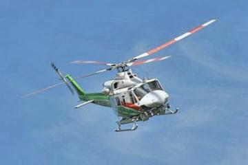 連絡が取れなくなった群馬県防災ヘリ「はるな」(JA200G)の同型機(群馬県ホームページより)