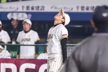 米国戦に登板した上野由岐子【写真:荒川祐史】