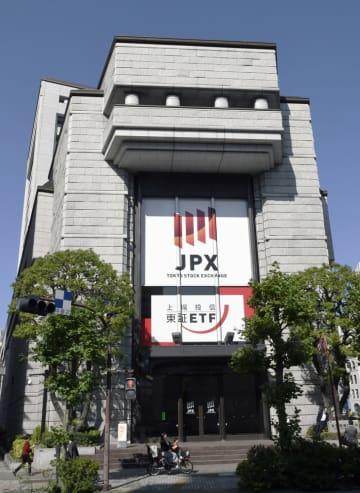 東京証券取引所、2017年10月26日撮影