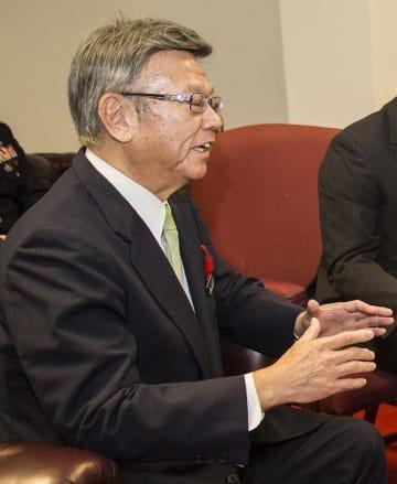 翁長 雄志 翁長知事 沖縄 沖縄県知事 在日米軍 普天間基地 選挙 県知事選