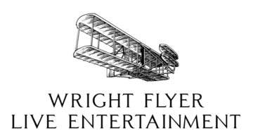 「Wright Flyer Live Entertainment」社企業ロゴ