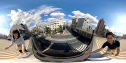 空間認知機能の低下などを体験できるVRの映像(シルバーウッド提供)