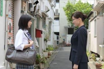 連続ドラマ「義母と娘のブルース」の第6話の一場面=TBS提供