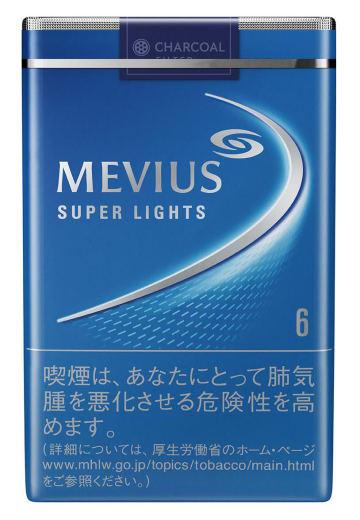 JTが財務省に値上げを申請した紙巻きたばこの「メビウス・スーパーライト」