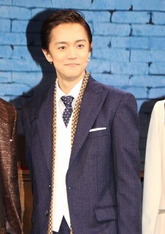 ミュージカル「ロジャース/ハート」の公開ゲネプロに参加した林翔太さん