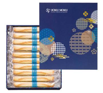 ヨックモックが中秋節向けに販売する台湾限定デザイン缶商品(880台湾元、同社提供)